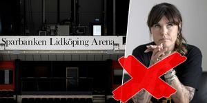 Mia Skäringer är sjuk och kan inte genomföra fredagens show i Sparbanken Lidköping Arena. Bild: Rikard Bäckman / TT