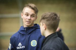 Albin Palmlöf har lyfts upp i GIF Sundsvalls A-lag inför säsongen 2020 – något av en dröm för den unga talangen.