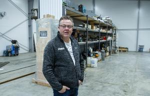 I de nya lokalerna i Norrkämsta finns väl tilltagna personalutrymmen, och en verkstadsdel på 600 kvadratmeter, berättar Klas-Åke Sundberg.