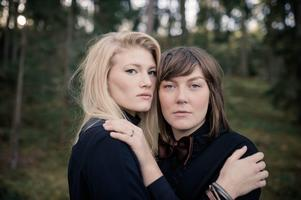 Ylva Eriksson och Hanna Enlöf i Good Harvest har som nyårslöfte att fira målen de uppnår ordentligt. Foto: Pressbild