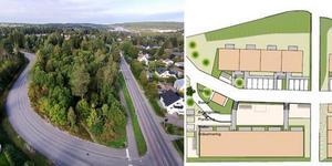 Bostadsområdet vid Hagaskolan får totalt 124 hyresrätter. I höst startar projektet och om ett knappt år börjar de nya husen att monteras.