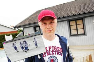 Viktor Spångberg spelade fram till två av målen mot Nässjö. Arkivbild