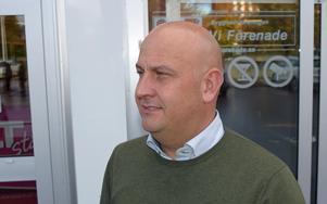 Samuel Eriksson tror att uthyrning av skyltar snart är vanligare än försäljning.