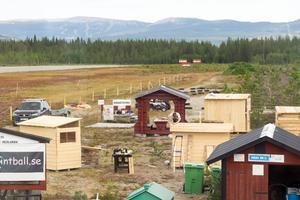 Fyra kojor där åtminstone en kommer att flyttas till ett närliggande fritidshus.