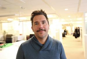 Markus Bäckström prisad av Mittmedia Sport för Årets Text.