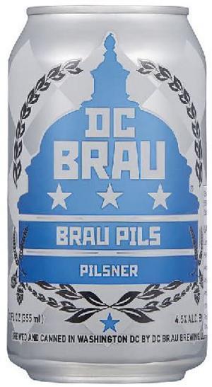 Brau Pils DC Brau Brewing Company.