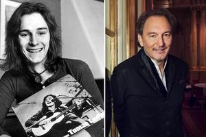 Vänster: Tomas Ledin, 5 april 1972 i samband med skivsläppet av debuten
