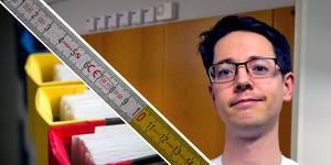 ST-läkaren Anton Olofsson varnar för att sjukvårdens allt större intresse för att mäta olika parametrar kan vara kontraproduktivt genom att det bidrar till att bränna ut läkare.