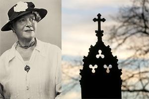Folklivsforskaren Louise Hagberg (1868–1944) gjorde uppteckningsresor i de svenska bygderna för att dokumentera sedvänjor kring döden.
