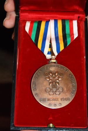 Bronsmedaljen från OS i Grenoble 1968