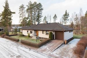 Denna villa i Stenslund, Falu kommun, fick 4 624 klick på Hemnet under vecka 47.Foto: SkandiaMäklarna