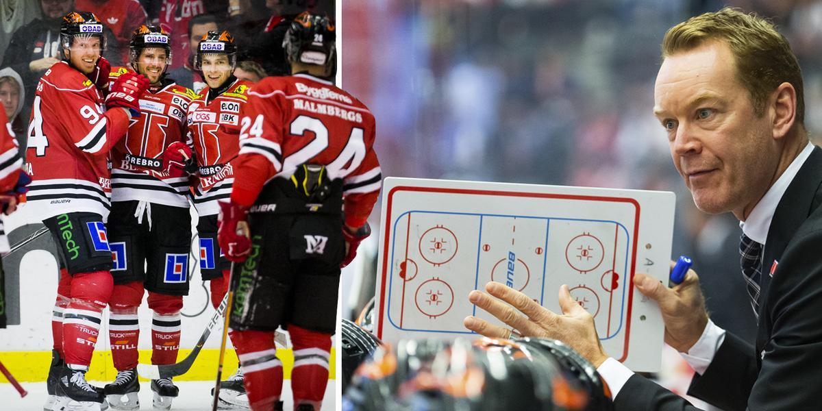 """Tre raka segrar – men här vill Örebrotränaren se förbättring: """"Det vill vi komma bort från"""""""