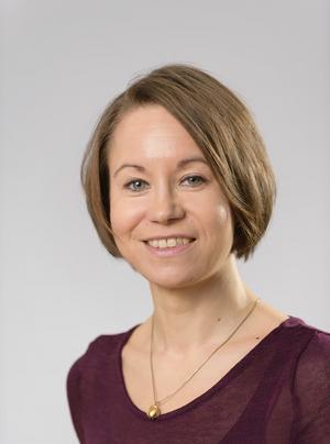 Sari Peura vid institutionen för skoglig mykologi och växtpatologi vid SLU.