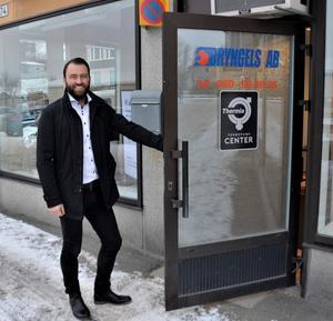 Pierre Åberg är ny ägare till Hudiksvallsföretaget Bryngels AB.
