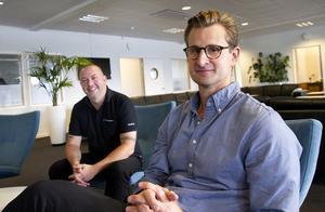 – Han förhörde sig noggrant om vilka vi var, vem jag var och vart vi är på väg, säger vd Jonte Bergman om när Albin Jansson anställdes som strategisk affärsutvecklare.
