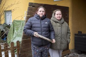 Kristin Söderberg och Emely Wallin bor på Nya Bruket.