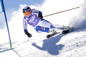 Nathalie Eklund i det svenska alpina landslaget. Foto: Pontus Lundahl / TT.