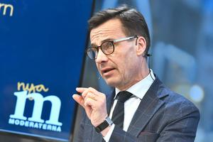 Moderatledaren Ulf Kristersson.Foto: Claudio Bresciani / TT