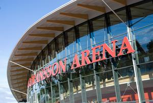 Göransson arena fyller 10 år. Foto: Mikael Nordgren.