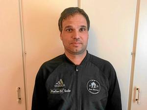 Silverstadens tränare Fredrik Olsson.