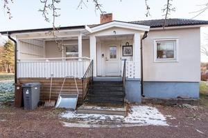 Sångåkersvägen 23. Foto: Länsförsäkringar Fastighetsförmedling Mora - Orsa