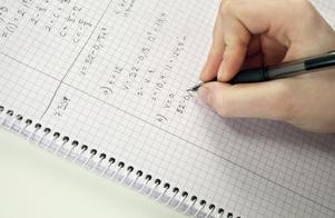 Debattörerna tipsar om att studera på ett högskoleförberedande program där direktövergången till högskolan är hög. Foto: Susanne Lindholm/TT