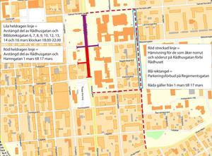 Karta: Östersunds kommun.