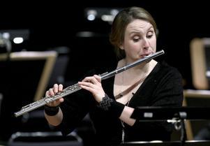 Sören Ekebjörns imponerades av Karin Lekteus hantering av flöjtstämman i Bachs Badinerie.
