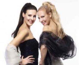 Duon Divine, med Caroline Gentele och Gabriella Lambert-Olsson, intar scenen i Logen på Berga Brystuga den första lördagen i augusti, och bjuder på en spännande musikalisk operamix.