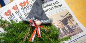 TH-tomten lottades ut till prenumeranter och lycklig vinnare blev Ulrika Lepik i Herrö.