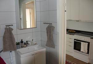 Det mesta finns på plats i lägenheterna som är byggda i Kina.