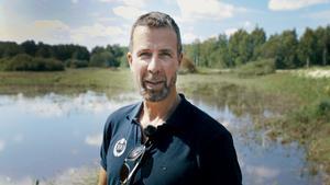 Lars Ljunggren, projektledare på Sportfiskarna. Bild: Emma Lindgren, Sportfiskarna.