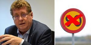 Jan Bohman, ordförande i Partnerskap E16 och kommunstyrelsens ordförande i Borlänge, är kritisk mot hastighetssänkningarna. Foto: Jerry Brodin/Arkiv & TT
