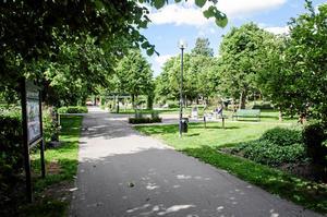 På måndagskvällen hålls en ljusmanifestation i Liljekvistska parken i centrala Borlänge.