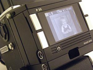 Det digitala bakstycket till Björns Hasselbladskamera som han använde 2006-2009. Foto: Privat