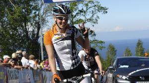 Ida Erngren slutade femma när linjeloppet avgjordes under SM-tävlingarna i Götene. Bilden är tagen vid ett annat lopp.