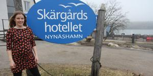Amanda Andersson är marknadsansvarig för Skärgårdshotellet.