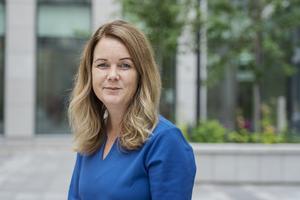 Jennie Nilsson (S) landsbygdsminister. Foto: Stina Stjernkvist / TT.