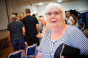 Birgitta Fransson var med på mötet i Kopparberg i samband med hundattacken.