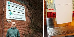 Mattias Nordell, biträdande verksamhetschef för vårdcentralen i Kumla, berättar att de på grund av vattnet  bokade om patienter som skulle ta bort vaxproppar.  Och på Alléskolan fick man stänga av juicemaskinen.