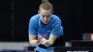 Med Anna Kirichenko i laget hoppas IK Juno kunna fixa nytt kontrakt med Pingisligan. Foto: Privat