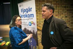 Monica Norum och Jonas Törngren.