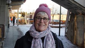Britt Larsson, 83 år, pensionär, Sörberge.