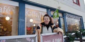 Jill Magnusson har varit ägare till Dalfors Lanthandel i fem år.