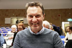 Mikael Jonsson (M). Moderaterna har idag 3 platser i fullmäktige.