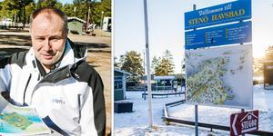 Thomas Gunnarsson som är föreståndare på Stenö camping är kritisk till hur kommunen sköter campingen.