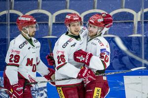 Tim Wahlgren har gjort 30 poäng på 132 matcher i hockeyallsvenskan, men spås av många stå inför ett genombrott. Foto: Bildbyrån