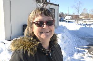 Lena Edblom Dahlberg, 60, bemanningsplanerare, Matfors: