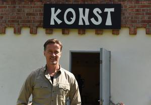 Anders Thorsén är ansvarig för utställningen och samordnare för Nätterlundsstiftelsen.