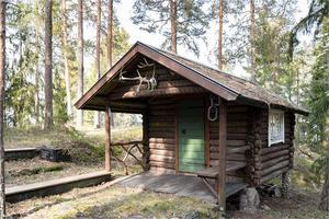 Gäststuga. Foto: Fastighetsbyrån Fagersta